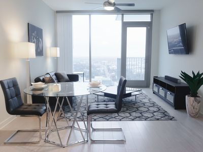 Photo for SMART HOME CONDO - SKY RISE VIEW + (FREE PARKING)!!!