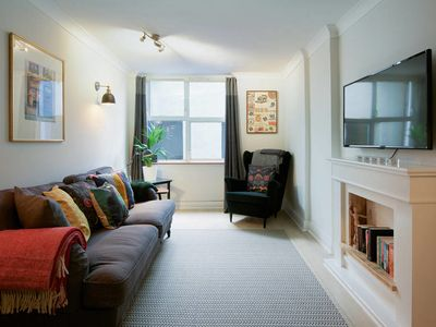Photo for Stylish 2 bedroom duplex w/garden near Maida Vale