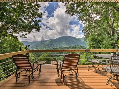 Photo for Maggie Valley Home w/Blue Ridge Mtn View & Hot Tub