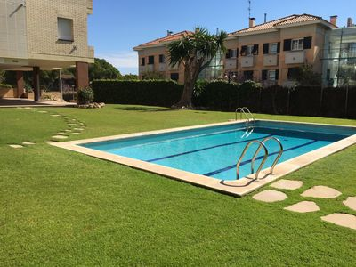 Photo for MODERN APT. LILY WITH GREAT COMMUNAL POOL AND CLOSE TO BEACH