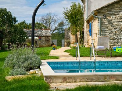 Photo for Stone villa with private pool in Central Istria