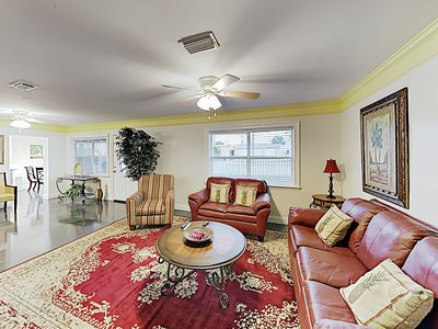 Photo for Beautifully Updated 2-Unit Rental w/ Deck - Walk to Beach & Lagoon!