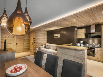 Photo for Rustic and Modern Design Just 50 m from Ski Slopes - Apartment Moltina