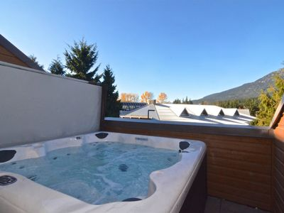 Photo for Located in the heart of the village -- hot tub