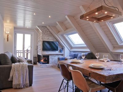 Photo for Bagergue design duplex with ski storage at the foot of the slopes n Baqueira (Val de Ruda)