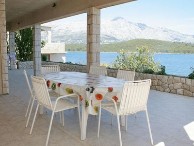 Photo for Three bedroom apartment near beach Korčula