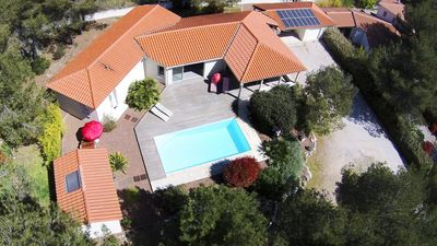 Photo for Spacious modern villa, quiet residential area, close to sea and pine forest