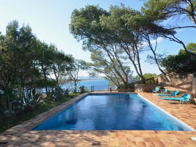 Photo for Holiday rental villa with swimming pool in Begur, Sa Riera
