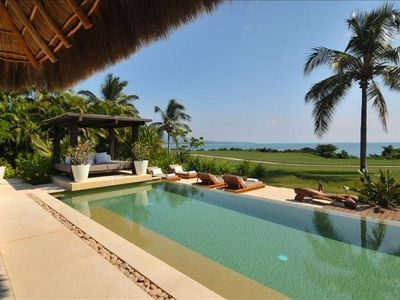 Photo for SPECTACULAR 5* Luxury OCEANFRONT Villa,7* staff, 6 Bed 7b at 4 Seasons