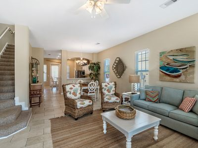 Photo for Seanote~ Beautiful beach house minutes from the Gulf!