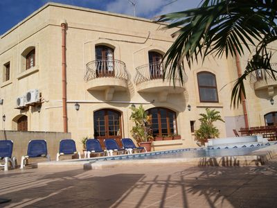 Photo for Ta Cikku, a luxury 5 bedroom with villa  with pool for family, friends and fun.