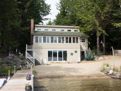 Photo for Private waterfront home perfect for family beach getaway
