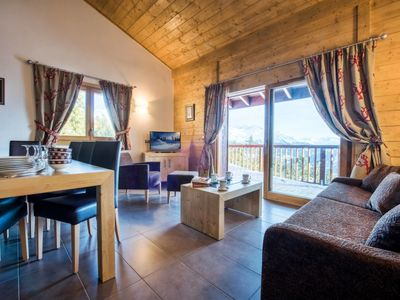 Photo for Apartment Le Chalet les Marmottons (ROS224) in La Rosière - 10 persons, 4 bedrooms