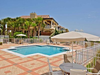 Photo for Gulf Front Condo with Views - Blue Mtn Beach - Community Pool - Minutes to Shopping & Dining!