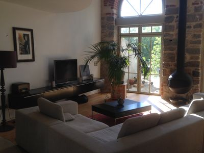 Photo for Loft in old mill at the gates of the Cevennes