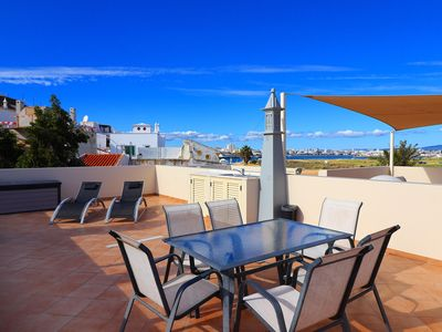 Photo for Casa Maria, sea views, 2 Bedroom, Air/Con, Roof terrace, Communal Pool