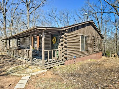 Photo for NEW! Murfreesboro Cabin w/Fire Pit-by Lake Greeson