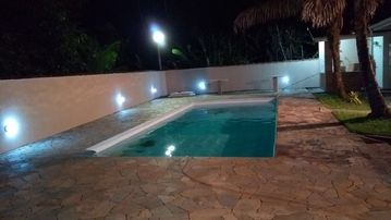 House on the Beach, Pool and Barbecue, a few meters from the marina of Tabatinga