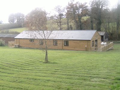The Games Barn from one of the fields