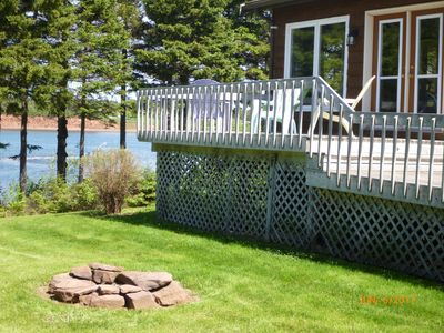 Photo for Waterfront spacious cottage in quiet treed lot located close to Cavendish