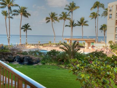 Photo for Beautifully  Remodeled 1B/1B Ocean View Condo On Sugar Beach - Gorgeous View