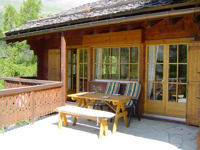 Photo for 3BR Chalet Vacation Rental in Zinal