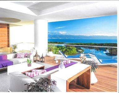 View From Spacious Deck