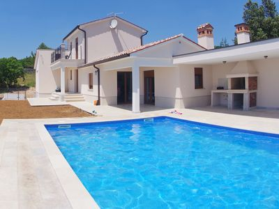 Photo for Modern villa with private pool near Labin and only 3 km from the beach