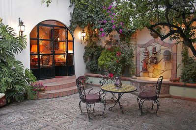 Entryway Courtyard to Casa Christina