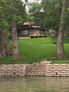 Photo for Das Fluss Hutte (The River Cabin) - Beautiful Guadalupe River Frontage