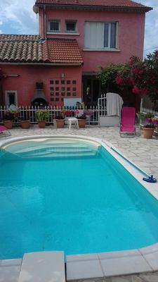 Photo for villa with pool and air-conditioned, near beaches Mar Vivo Les Sablettes