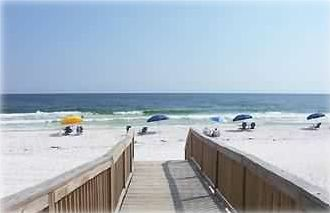 Beach view at our boardwalk & beach walkway. Right next to units!