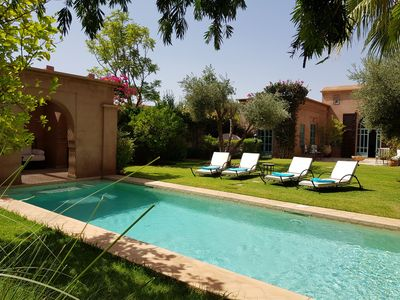 Photo for Private Luxury Villa: Garden and Pool not overlooked, Housekeeper and services