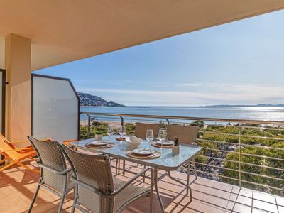 Photo for el Mas Mates Apartment, Sleeps 5 with Pool, Air Con and Free WiFi