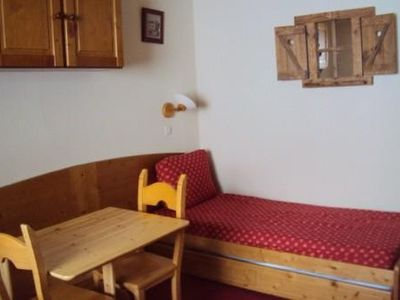 Photo for Charming studio on the slopes and in the heart of Plagne Village