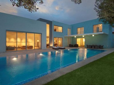 Photo for Luxurious Villa with fenced swimming pool in Caesarea's Golf neighbourhood