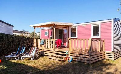 Photo for 3BR Mobile Home Vacation Rental in Frontignan