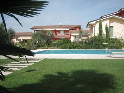 Photo for Holiday apartment with pool and wi-fi