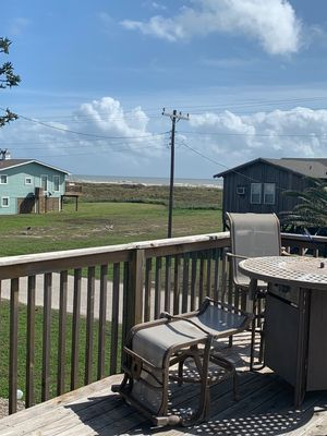 Photo for Relaxing Matagorda Beach Retreat  -  View the Gulf from the Deck and Sun Porch