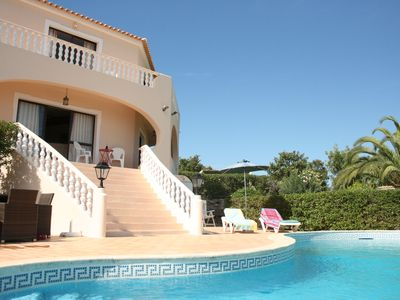 Photo for Villa in peaceful location with superb views, pool, mini golf and ping pong