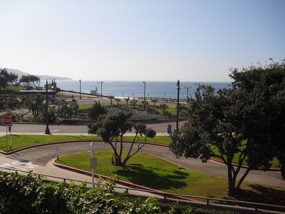 Photo for Oceanfront Condo with Pool, WiFi located on the Bike Path/Fishing Pier and Beach