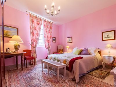 Photo for ROSE Room, Saint Roch Bed and Breakfast, indoor heated pool