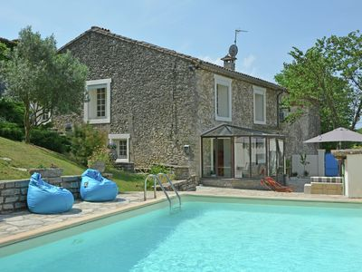Photo for Between the beach and the lake: a gorgeously renovated bastide with private swimming pool