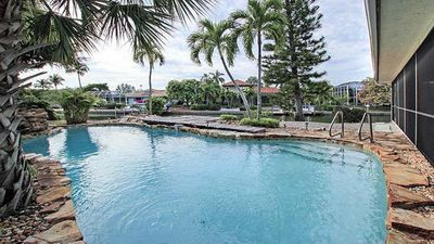 Relax and swim in heated pool 3 bed 4 bath house. GREAT LOCATION!!
