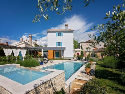 Photo for Unique Villa with Saltwater Swimming Pool in Porec