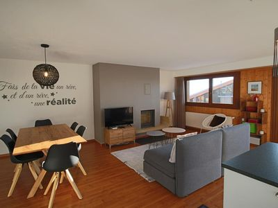 Photo for Very nice apartment completely renovated (max. 5 people). Entrance, lounge - dining room, with sitti