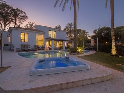 Photo for ***Stylish Andalusian villa in Marbella***