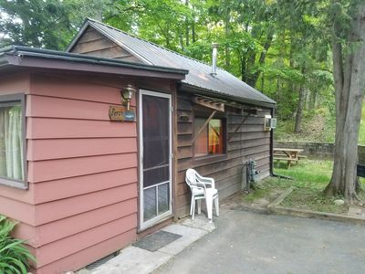 Photo for Perfect summer getaway spot for 2, situated near the woods and wetlands