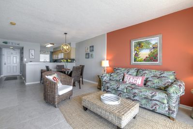 Spacious comfortable interior with great natural sunlight