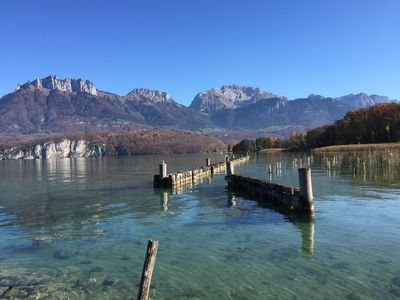 Photo for Lake Annecy: Luxury villa with mountain views
